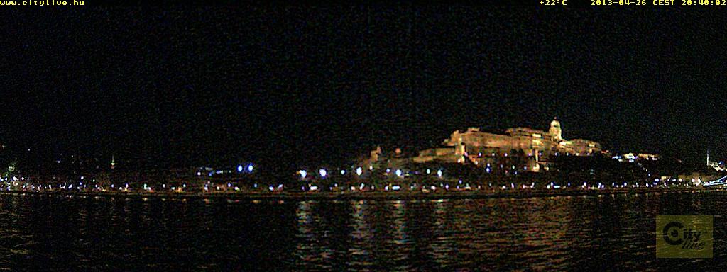 Budapest webcam - Buda Castle, Budapest webcam, Central Hungary, Budapesti
